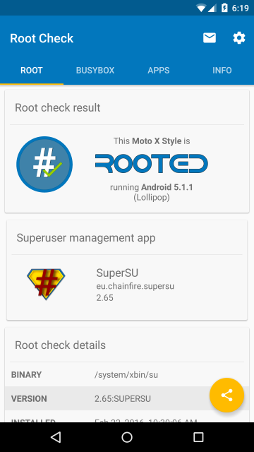 Root Check for Android